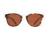 Matte Yellow Tortoise Brown Polarized Lens