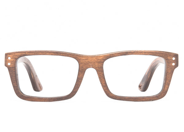 Boise Wood RX Wood Optical Frames – Proof Eyewear