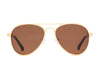 Gold Brown Polarised Lens