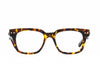Yellow Tortoise Clear Lens