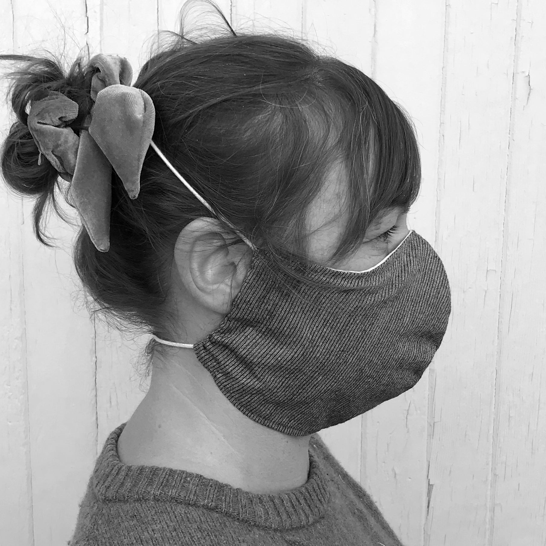 FACE MASK / HERRINGBONE