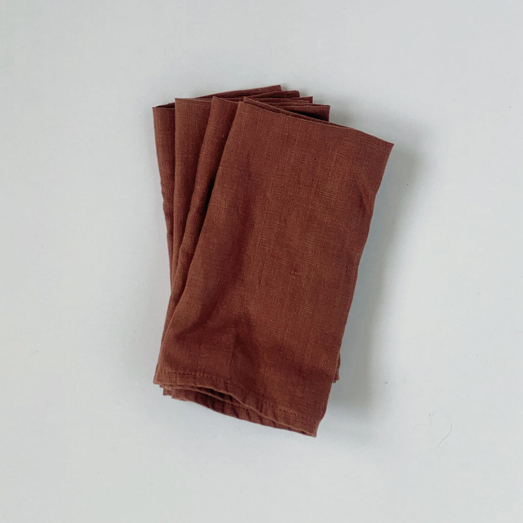 LINEN NAPKINS / VARIOUS COLORS