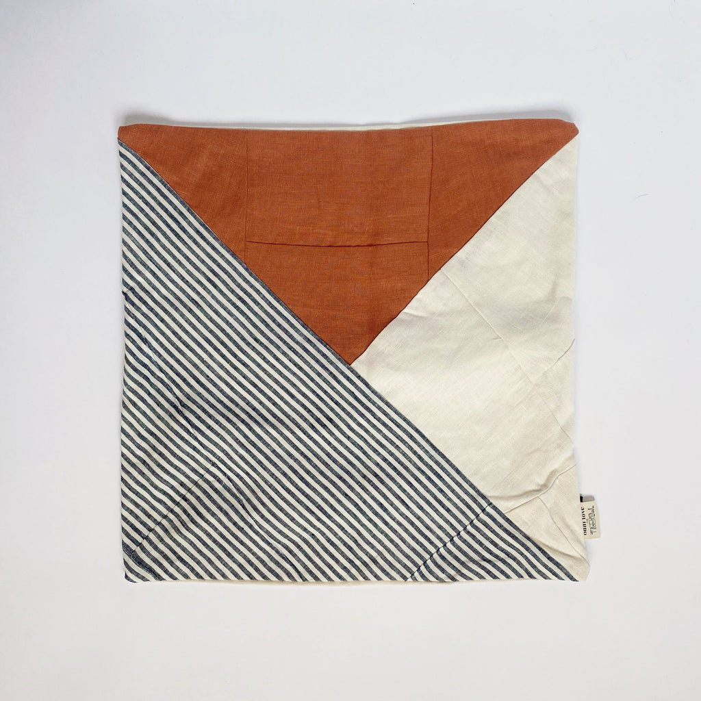 PILLOW SHAM / TERRA-COTTA TRIANGLE