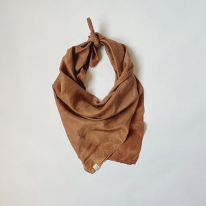 SILK SCARF / CLAY