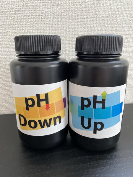 pHセット (UP & DOWN / GENERAL HYDROPONICS)