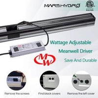 Mars Hydro SP 250 230w Cover 2x4 energy saving plant led growth light