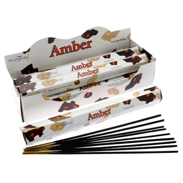 Amber - Stamford Premium Incense Sticks