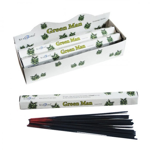 Green Man - Stamford Premium Incense Sticks