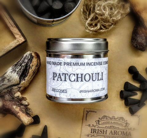 Patchouli - 100 Incense Cones
