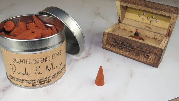 Peach & Mango  - Handmade Indian Incense Cones