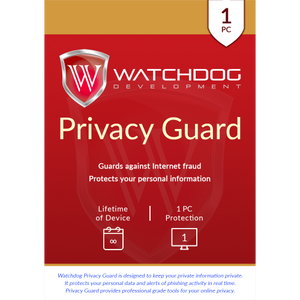 Watchdog Privacy Guard - Lifetime of Device / 1- PC OEM