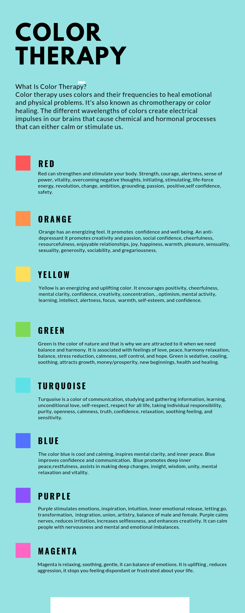 Color Therapy – Sensory Supplies