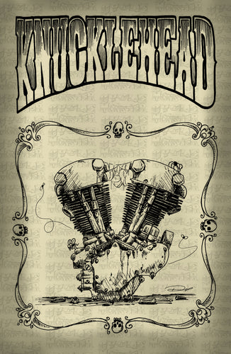 (02 poster) KNUCKLEHEAD