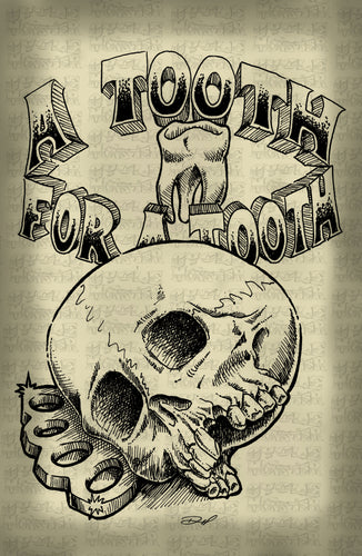 (16 poster) A TOOTH FOR A TOOTH