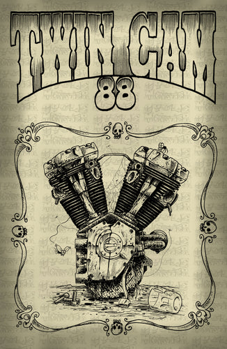 (24 poster) TWIN CAM 88