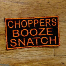 Load image into Gallery viewer, (05 patch) CHOPPERS BOOZE SNATCH