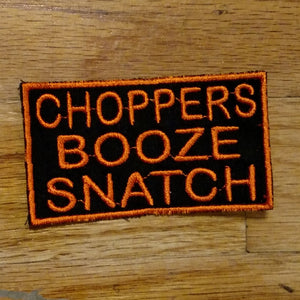 (05 patch) CHOPPERS BOOZE SNATCH