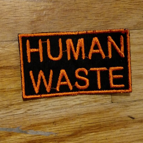 (09 patch) HUMAN WASTE