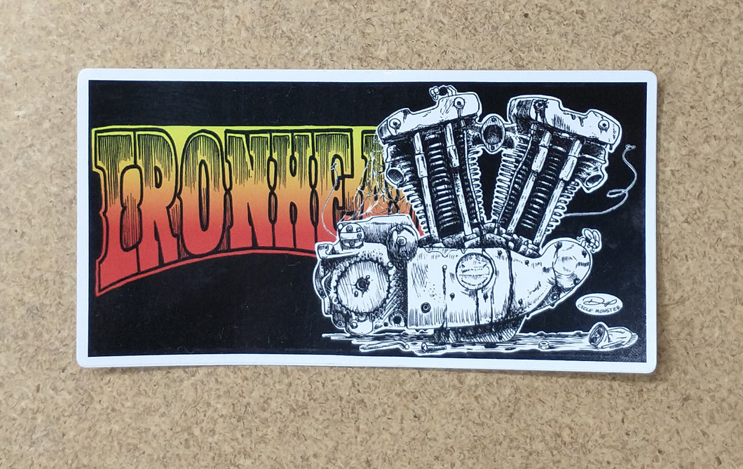 IRONHEAD decal (color)