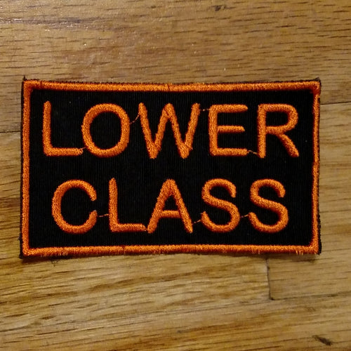 (10 patch) LOWER CLASS