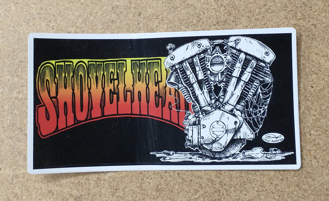 SHOVELHEAD decal (color)