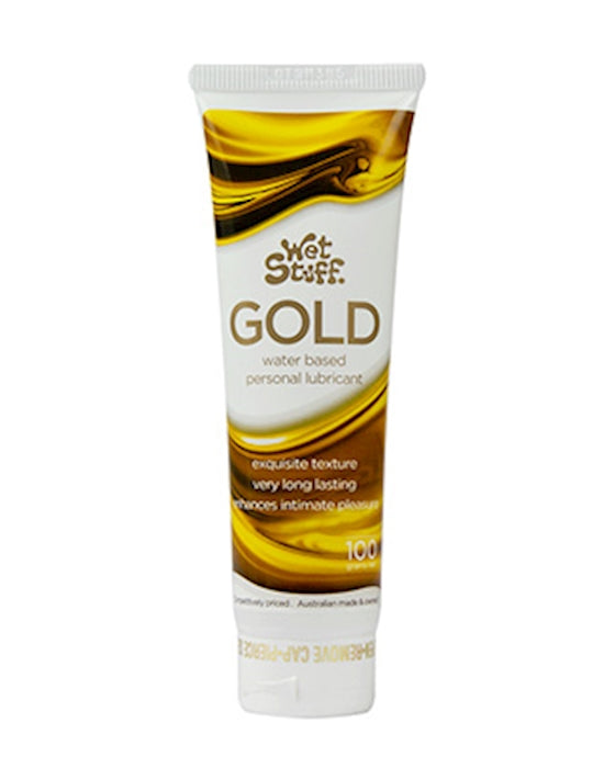 Wet Stuff Gold Water-Based Lubricant 100g