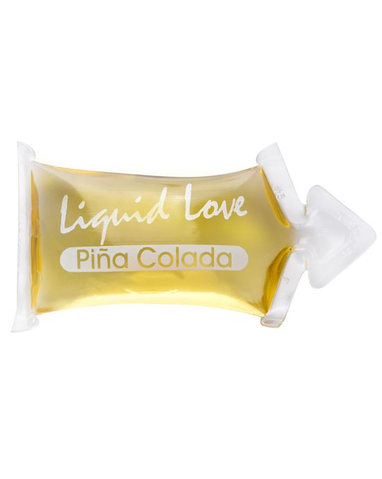 Liquid Love Pillow Packs Pina Colada 7ml Yellow