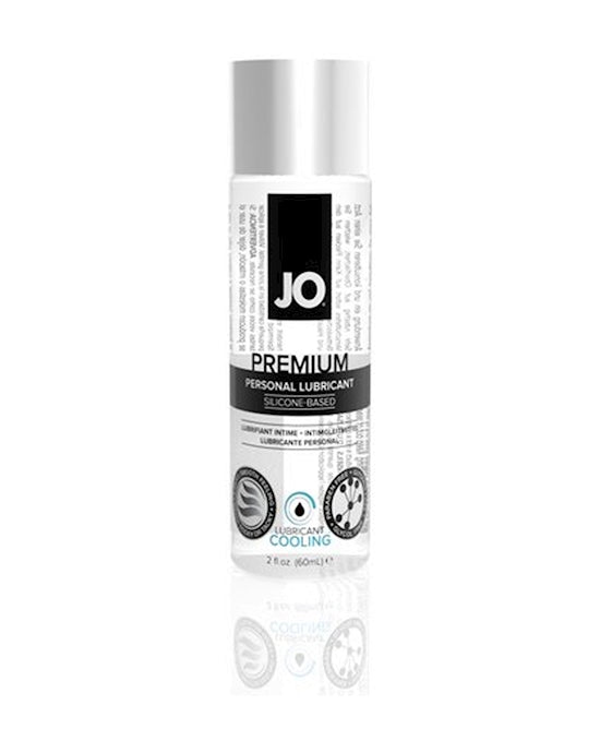 System JO Silicone Lubricant Cool 75ml Clear