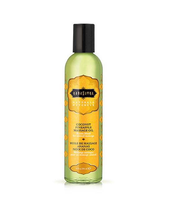 KamaSutra Naturals Massage Oil Coconut Pineapple 236ml