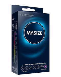 My Size Condoms 69mm Width 10pk Clear