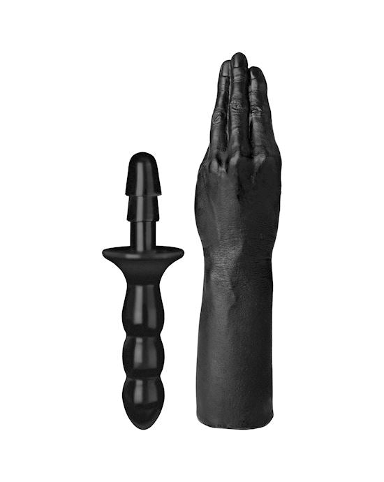 Titanmen The Hand With Vac-U-Lock Compatible Handle Black