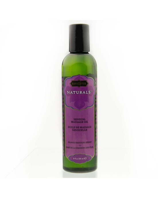KamaSutra Naturals Massage Oil Island Passion Berry 200ml