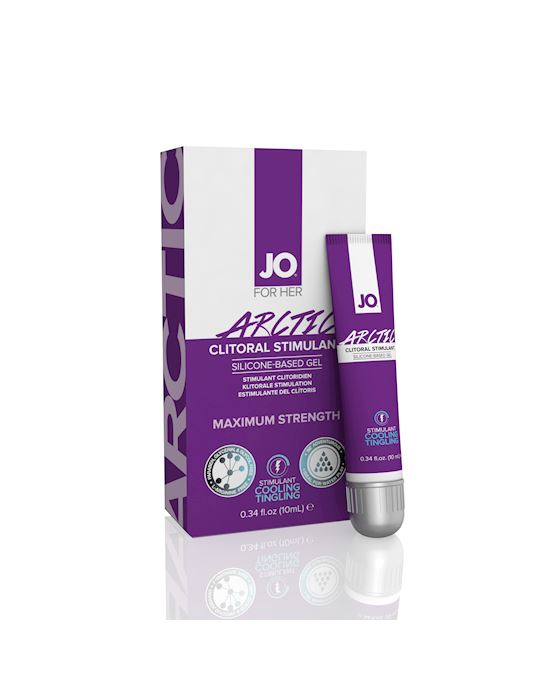 System Jo Clitoral Gel Cooling Chill 10ml
