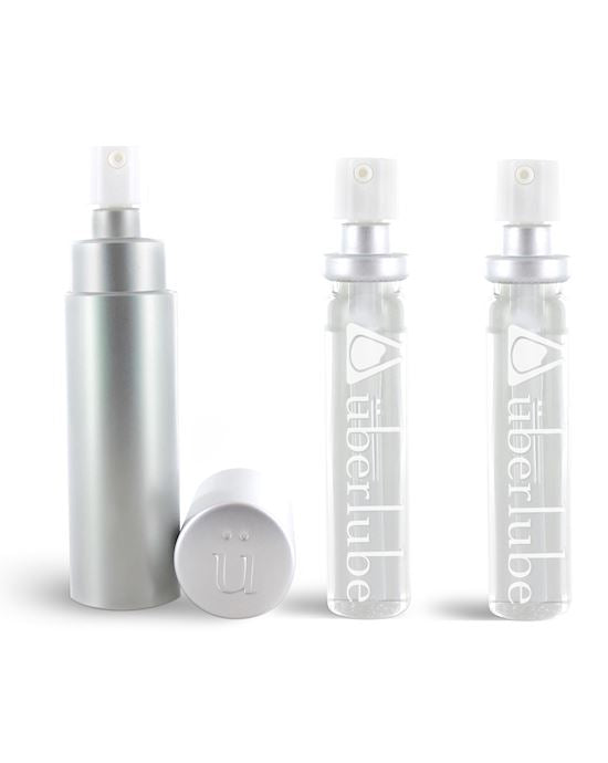 Uberlube Silicone Lubricant Good-To-Go & Refills 3 x 15ml
