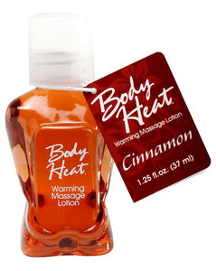 Body Heat Warming Massage Lotion Cinnamon 37ml Brown