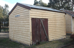 Victorian Railways 15' x 12' Van shed - HO