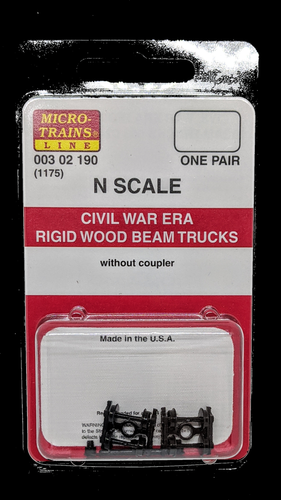 Micro-Trains Civil War Era Beam Trucks 1175