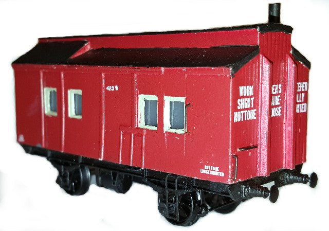 VR Workman's Sleeper - SE - HO SCALE