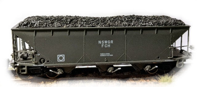 Coal Loads for Gopher Models BCH hoppers