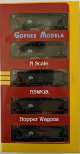 NSWGR BCH VARIANTS WAGON 5 PACK RTR - N