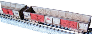 N scale OB open wagon kit