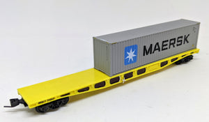 West Australian WQCY container wagon N Scale