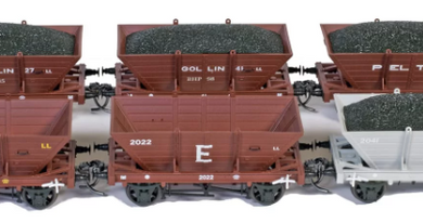 SRM Private owner LL coal wagons HO 10 pack