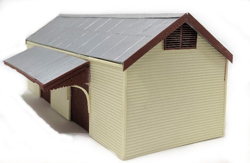 VR 50ft WEATHERBOARD GOODS SHED - HO
