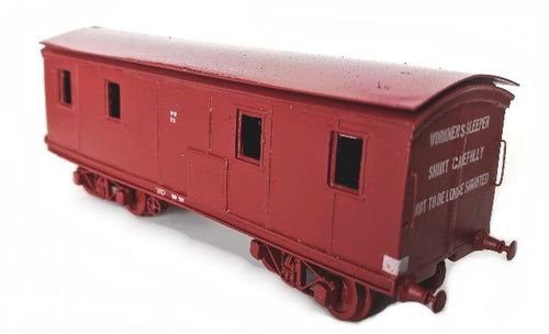 VR Workman's Sleeper 110WW HO SCALE
