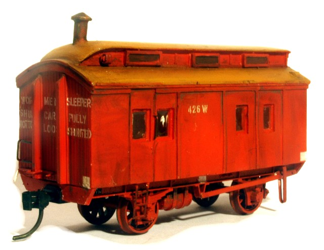 VR Workmans Sleeper  - RE - HO SCALE