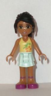New Lego Friends Nicole 2 Minifigure Loose