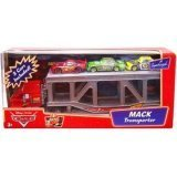 Disney Pixar Cars Mack Transporter Truck With Chick, Leakless & Mcqueen