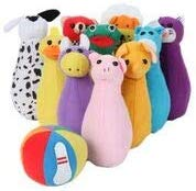 Mail Order Direct Plush Bowling Set
