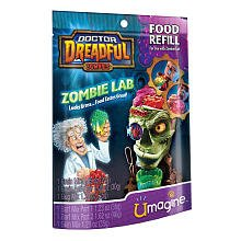 Doctor Dreadful Zombies Zombie Lab Food Refill